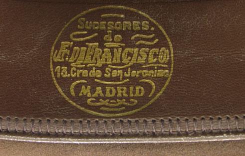 Sello sombrereria Sucesores de F. Francisco