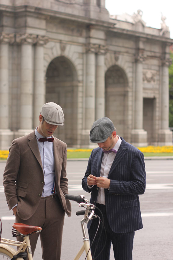 Preparativos Tweed Ride