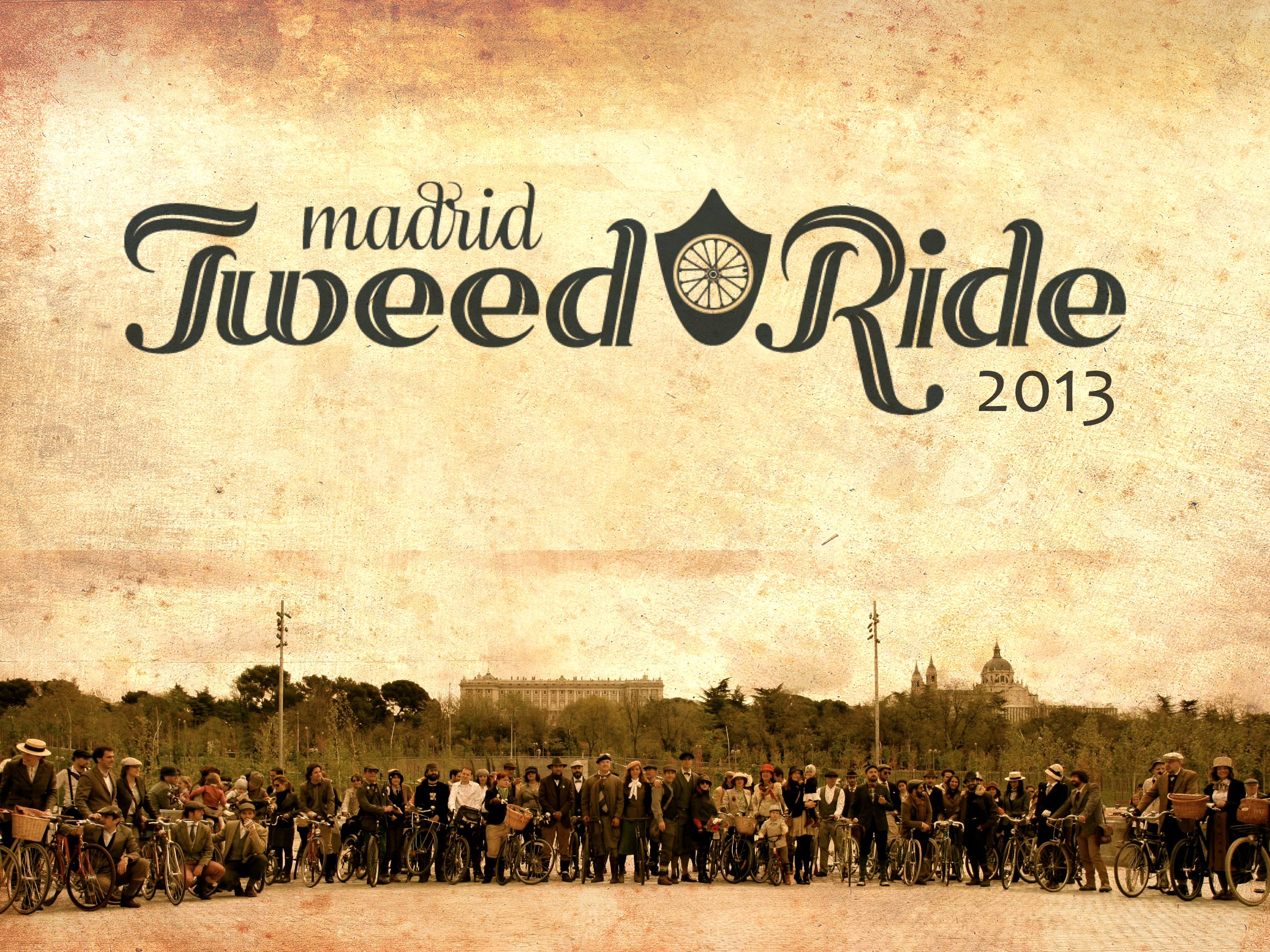 Participantes Tweed Ride Madrid