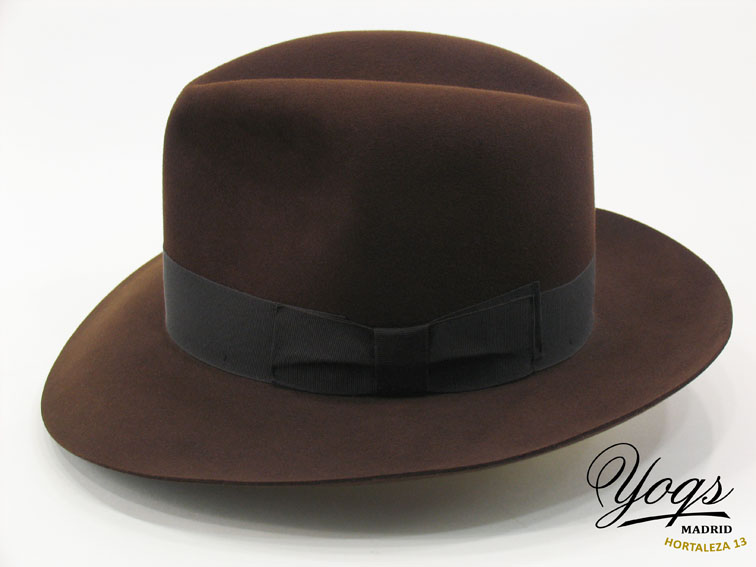 sombrero Aventurero fieltro castor perfil de Sombrerería Yoqs