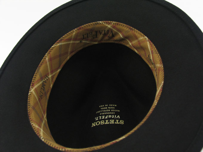 sombreros stetson Hamlin vitafelt - YOQS b4774b01d59