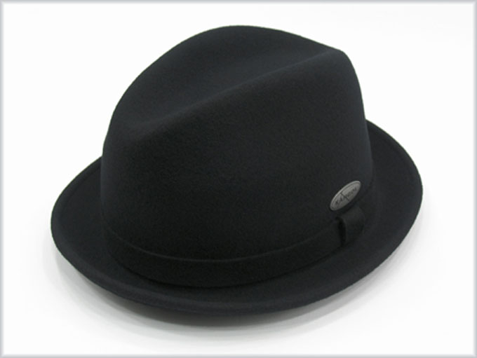 991575c3083b8 Kangol Player LiteFelt  Sombrero de Kangol de ala corta y copa alta