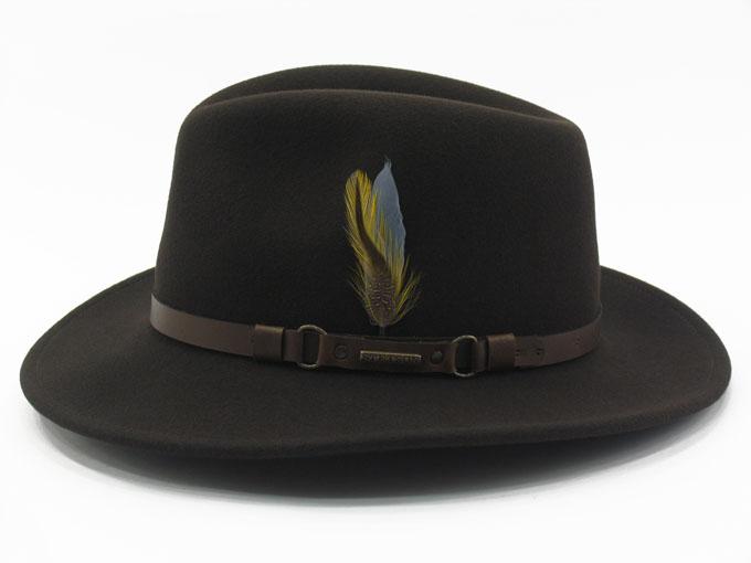 Sombrero Stetson Hamlin Vitafelt  Sombrero fabricado en EEUU con fieltro de  lana 100% calidad Vitafelt y cinta de piel. Es repelente al agua c068806d693